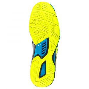 Mizuno Chaussures Handball Wave Stealth 5 Homme Noir/Jaune/Bleu 42.5