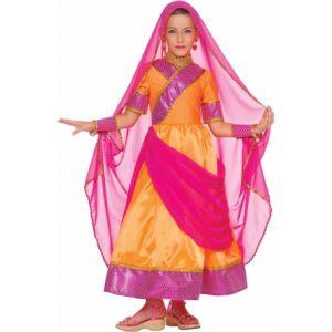 Déguisement bollywood enfant 3 à 5 ans