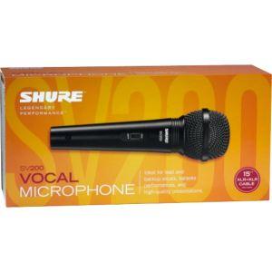 Shure SV200 - Micro filaire
