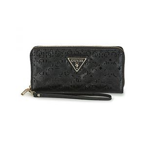 Guess Portefeuille ASTRID SLG LARGE ZIP AROUND Noir - Taille Unique
