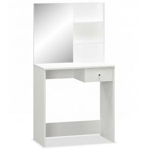 VidaXL Coiffeuse Aggloméré 75 x 40 x 141 cm Blanc