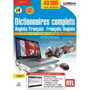 Dictionnaires complets : Français - Anglais (2008) [Windows]