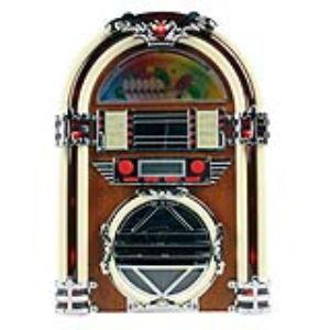 Basic XL BXL-JB10 - Jukebox avec radio AM/FM et lecteur CD