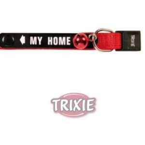 Trixie Colliers pour chats en nylon avec plaque d'identification