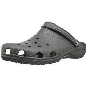 Crocs Classic, Sabots Mixte Adulte, Gris (Slate Grey), 36-37 EU