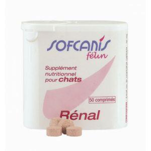 Sofcanis Félin Rénal - Supplément nutritionnel pour chats