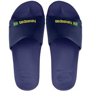 Havaianas Slide Brasil - Sandales de marche taille 37/38, gris