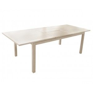 Proloisirs Mahana - Table de jardin rectangulaire extensible 240 cm
