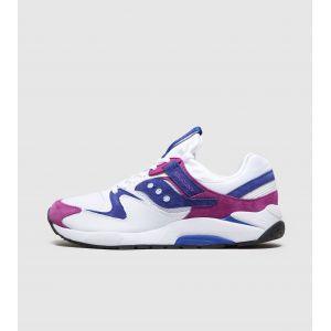 Saucony Grid 9000 chaussures Hommes blanc violet bleu T. 45,0