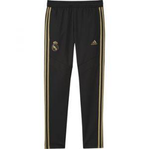 Adidas Pantalon d'entraînement Chaud Real Madrid - Noir - Enfants - Couleur Black - Taille 9-10 Years