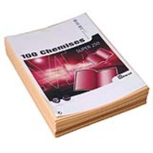 Majuscule 100 chemises dossiers Super 250g (24 x 32 cm)