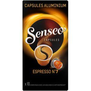 Philips senseo Capsules Espresso n°7 Senseo x 10 compatibles Nespresso®