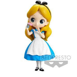 Banpresto Disney figurine Q Posket Alice Thinking Time Normal Color