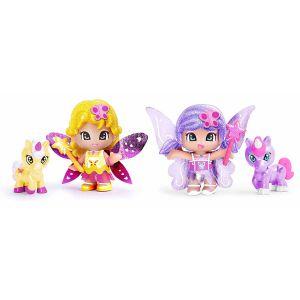 Famosa Pinypon coffret 2 figurines fées et leurs animaux