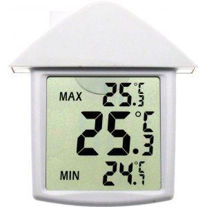 Stil Thermomètre électronique digital de fenêtre Mini-Maxi
