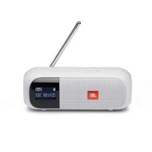 JBL DAB/FM, Tuner 2 Blanc - Enceinte portable radio