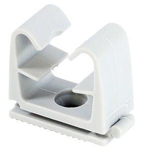 Fischer 50 Clip tube FC pour câble électrique et tube souple 12 à 16 mm