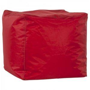 Kokoon Design Pouf Design Cube Rouge