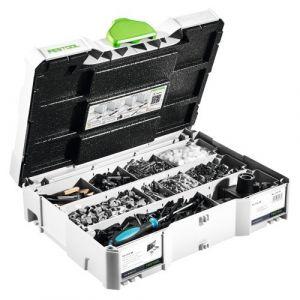 Festool Système d'assemblage DOMINO KV-SYS D8 kit complet