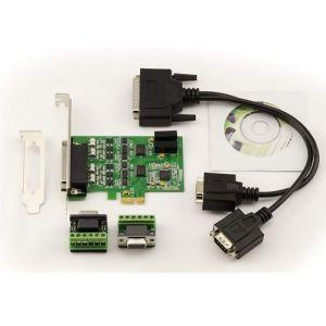 Kalea Informatique Carte Contrôleur PCI EXPRESS (PCIe) // 2 ports RS422 RS485 // CHIPSET EXAR XR17V352 - Windows XP/Vista/Seven/8/10 Server Linux