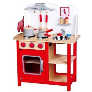 New Classic Toys 1055 - Cuisine Bon Appétit avec accessoires
