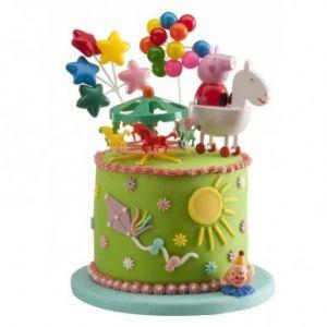 Décorations pour gâteaux Peppa Pig