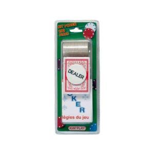 Kim'play Kit de Poker (100 jetons)