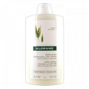 Klorane Extra-Doux - Shampooing au lait d'Avoine - 400 ml