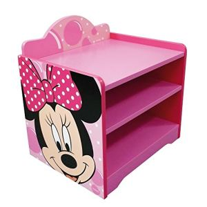 Fun House 712166 - Table de nuit sans tiroir Minnie en bois