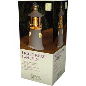 Lanterne en métal phare 36 cm - NOMA GARDEN ART