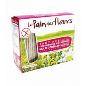 Le pain des fleurs Tartine craquante Multi-céréales 150g