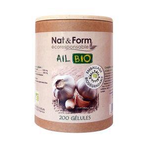 Nat & Form Ail Bulbe Bio (200 gélules végétales)