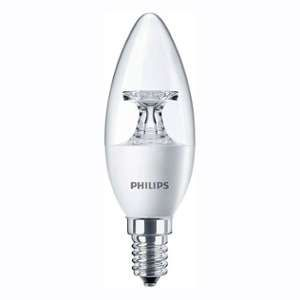 Philips CorePro Transparent ampoule LED Candle e14 230 v 5,5 w Équivalent 40 w de bougie