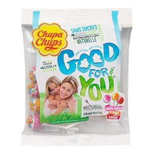 Chupa Chups Good for you sachet de 14 mini sucettes - 84g