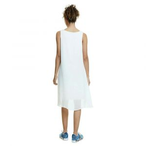 Desigual Robe courte BARRIE Blanc - Taille FR 36,FR 38,FR 40,FR 42