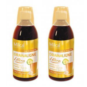 Milical Drainaligne Ultra - Draineur minceur goût agrumes