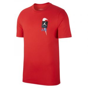 Nike Tee-shirt Jordan Legacy AJ4 pour Homme - Rouge - Taille L - Male