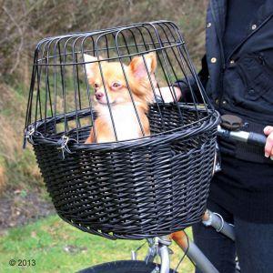 Trixie 2818 - Panier pour vélo pour petit chien L 50 x l 35 x H 41 cm