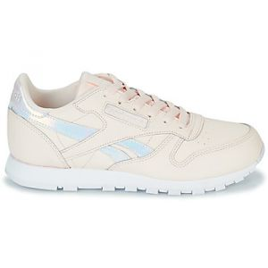 Reebok Classic Leather, Sneakers Basses Fille, Rose