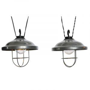 Guirlande LED solaire lampe grange