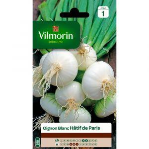 Vilmorin Oignon blanc hâtif de paris 3 g