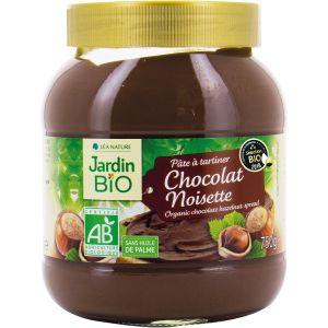 Jardin Bio Pâte à tartiner noisette cacao bio - 750g