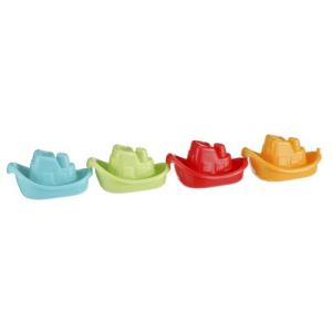 Vulli Jouet de bain : 4 petits bateaux