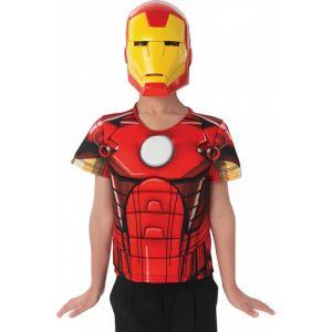 Plastron et masque Iron Man Avengers assemble