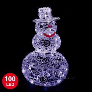 Bonhomme de neige lumineux (59 cm)