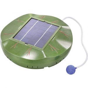 Esotec Oxygénateur de bassin solaire Floating Air