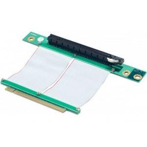 Dexlan 736668 - Riser PCI-E 16x avec nappe de renvoi 60 mm
