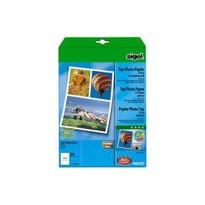 Sigel 100 feuilles de papier photo Top 170 g/m² (A4)