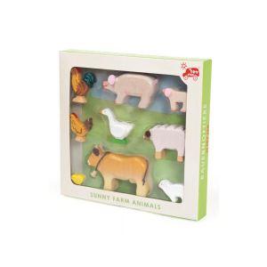 Le Toy Van Figurines les animaux de la ferme