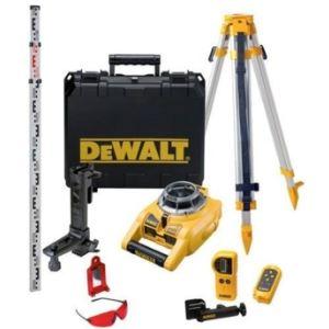 Dewalt DW075PK - Laser rotatif a niveau automatique horizontal et vertical